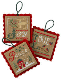 lizzie kate ornaments counted cross stitch patterns