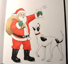 how to draw christmas cartoons a santa kitty cat drawing tutorials