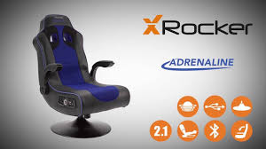 Xbox 1 Gaming Chair X Rocker Adrenaline Bluetooth Gaming Chair Product Overview