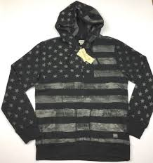 American Flag Hoodies For Men Denim Supply Ralph Lauren Men Vtg Distress American Flag Zip