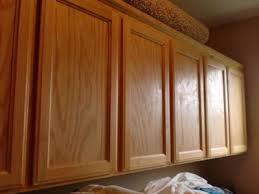 Change Cupboard Doors Kitchen by Diy Kitchen Makeover Easy Change From Simple Oak To Fabulous Cherry