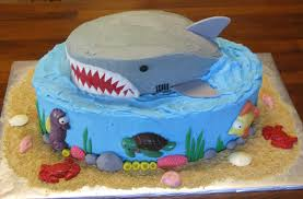 shark cake super sweet tooth