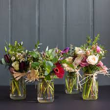 jar flower arrangement jam jar bombs fabulous flowers