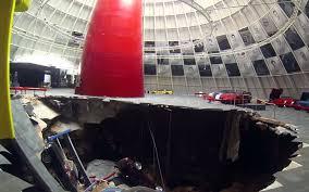 national corvette museum sinkhole sinkhole devours valuable cars at the national corvette museum