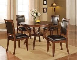 round walnut dining table 48 crawley round walnut dining table w chairs