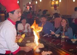 japanese restaurant cook at table fujiyama steakhouse sushi bar austin texas