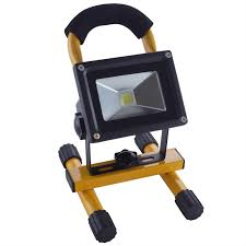 10w led rechargeable li ion battery operated work light aervoe