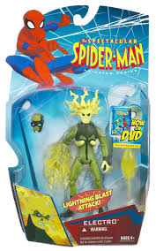 spectacular spider man electro action figure