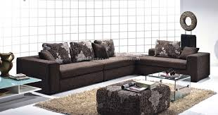 living room sectionals amazing design ideas using l shaped brown leather couches and