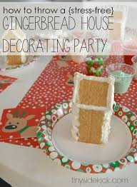 Gingerbread House Decoration How To Host An Easy Gingerbread House Decorating Party