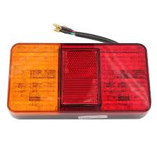trailer tail lights for sale 1 pair 12v 40 led rear tail lights stop indicator l truck