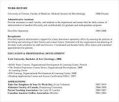 Microbiologist Resume Sample by Sample Receptionist Resume 9 Download Free Documents In Pdf Word