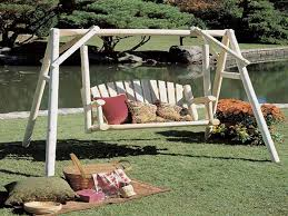 Glider Canopy Replacement by Outdoor U0026 Garden Nice One Person Patio Swing Design Patio Swing