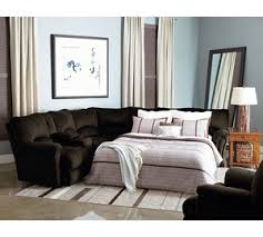 Sectional Sofa With Sleeper And Recliner Leather Sofas And Sectionals