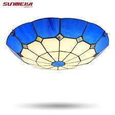 Seashell Light Fixtures Buy Seashell Led Ceiling Light Mediterranean Style L