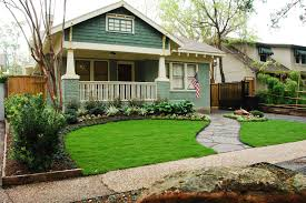 easy landscaping ideas for small front yard