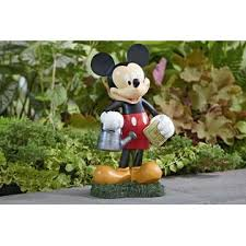 disney mickey mouse statue outdoor living outdoor decor lawn