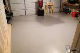 garage floor makeover with epoxy