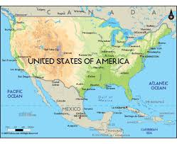 The United States And Canada Map by Maps Of Usa Detailed Map Of United States Of America In English