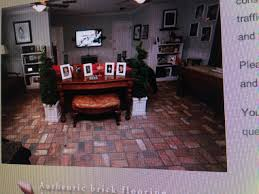 Portstone Brick Flooring by Vintage Restyled Brick Floors