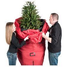 santa s bag upright tree storage bag up to 7 5 target