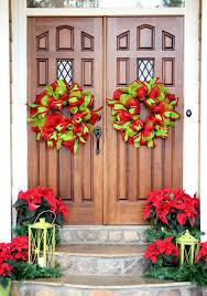 Outdoor Christmas Garland Decorating Ideas by 62 Impressive Ideas For Christmas Decoration Outdoor U2013 Fresh