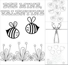 free printable valentines day coloring pages sharing free