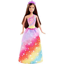 barbie princess rainbow doll dhm52 barbie