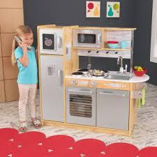 cuisine bois kidkraft jouets des bois cuisine en bois uptown naturelle 53298 kidkraft