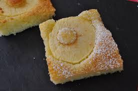 sachet pour biscuit carrés moelleux aux pommes blog cuisine avec du chocolat ou
