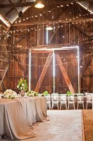30 indoor barn wedding decor ideas with lights deer