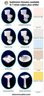 Gerber Bathroom Fixtures Bathroom Fixtures In 7 Retro Colors From Peerless Plus We