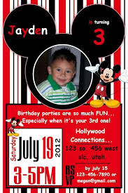 20 best mickey and minnie birthday invitations images on pinterest