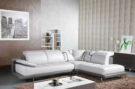 Cheap White Leather Sectional Sofa Alluring White Leather Sectional Sofa Ideas For Living Room