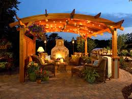 outdoor patio ideas with fire pit and pergola pergolas for