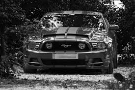Mustang Car Black Free Photo Auto Pkw Sports Car Ford Free Image On Pixabay
