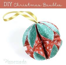 easy paper decorations paper baubles simple