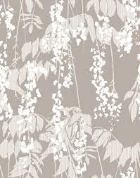 kuboaa ltd product wistaria lint wallpaper