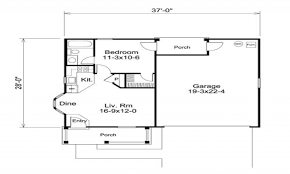 Apartment Over Garage Floor Plans One Bedroom Apartments Dc Ideasidea