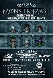 Halloween Song Monster Mash by Krewe Of Boo U0027s Monster Mash With A Flock Of Seagulls U2013 Tickets