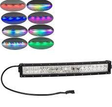 multi color led light bar chasing halo led light bar multi colored primo dynamic lighting