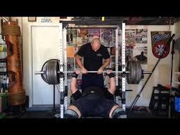 Best Bench Presses Nick Best 550 Pound Bench Press Youtube