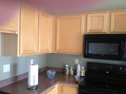 Weathered Or Not Kitchen Cabinet Makeover Tutorial - Kitchen cabinet wallpaper