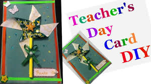 diy teachers day greeting card making ideas for kids easy