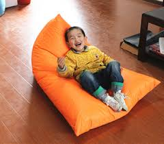 mini bean bag chairs for your kids room accessories with triangle