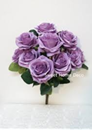 silk flowers bulk 10 lavender heads silk flower wedding reception