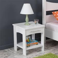amazon com kidkraft addison twin side table white toys u0026 games