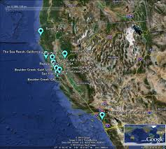 Seattle Google Map by Google Map Of San Francisco California Usa Nations Online Project