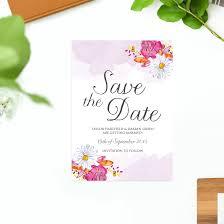 wedding invitations brisbane watercolour flower wedding invitations sail and swan