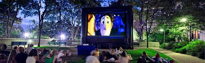 Backyard Movie Night Rental Projector Mke Production Rental